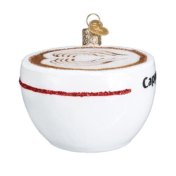 Old World Christmas Cappuccino Ornament