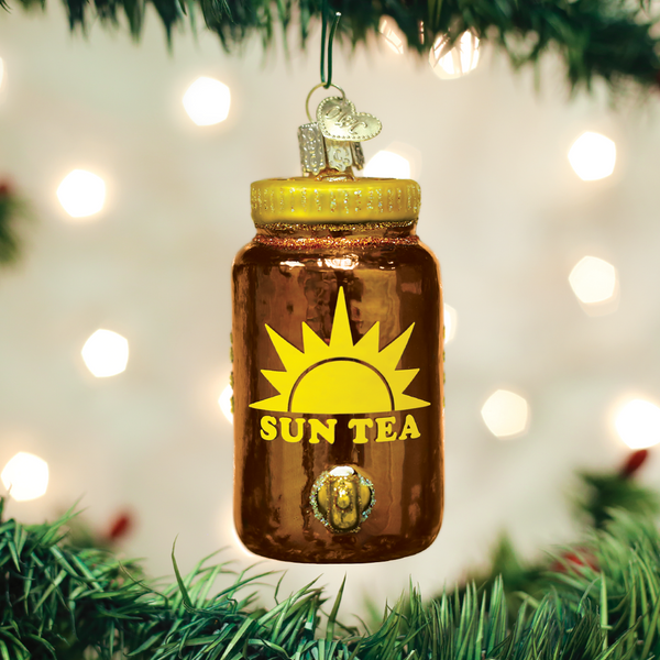 Old World Christmas Sun Tea Ornament