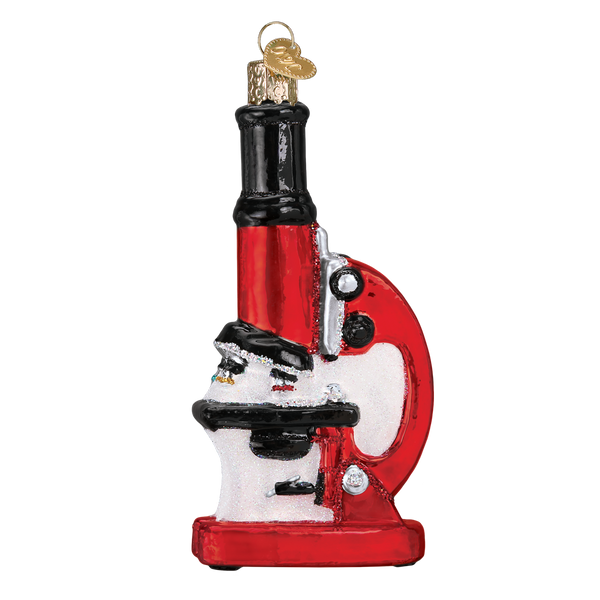 Old World Christmas Microscope Ornament