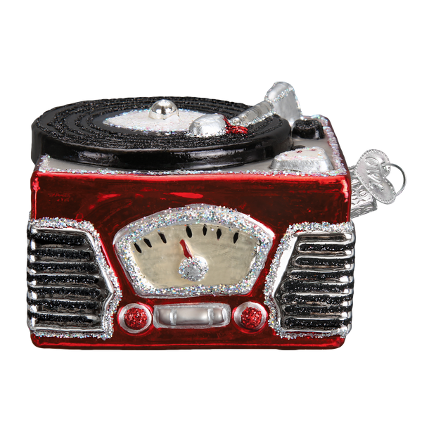 Old World Christmas Record Player Ornament