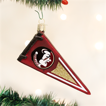 Florida State Glass Pennant