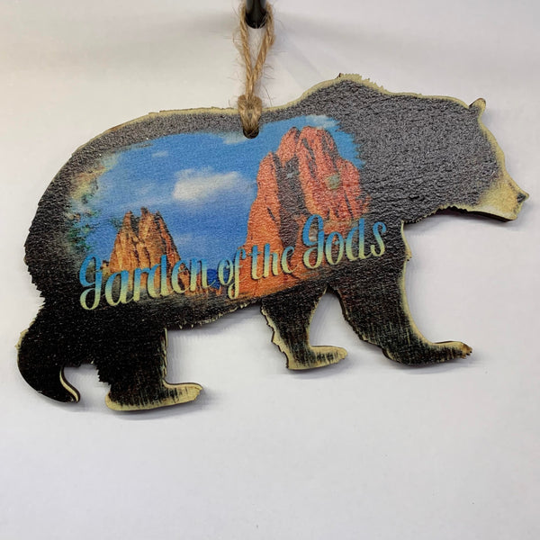 Garden of the Gods Bear Ornament