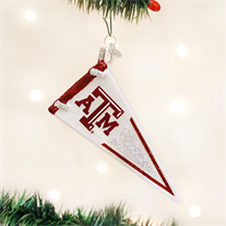 Texas A & M Glass Pennant