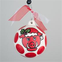 Arkansas Porcelain Ball Ornament
