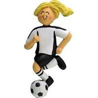 Soccer Player Ornament