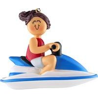 Jet Ski Ornaments - 4 Variations