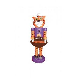 Clemson Tigers Nutcracker Ornament