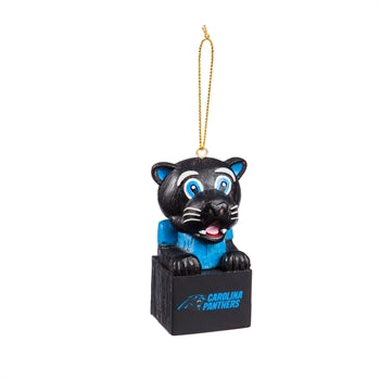 Carolina Panthers Mascot Ornament