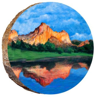 Garden of the Gods Reflection Ornament