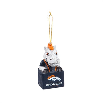 Denver Broncos Mascot Ornament