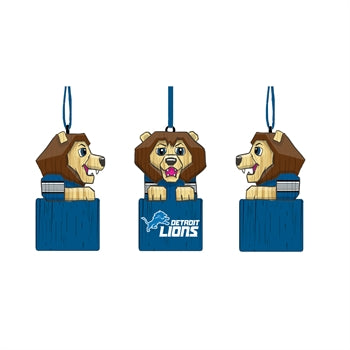 Detroit Lions Mascot Ornament