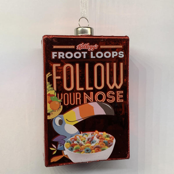 Froot Loops Ornament