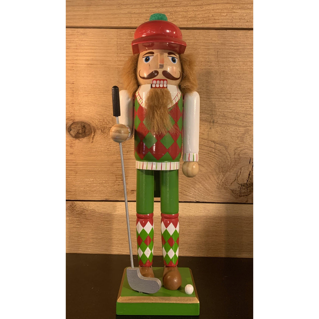 Golf Player Nutcracker