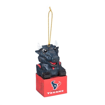Houston Texans Mascot Ornament