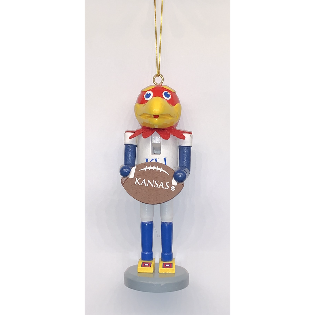 Kansas University (KU) Nutcracker Ornament