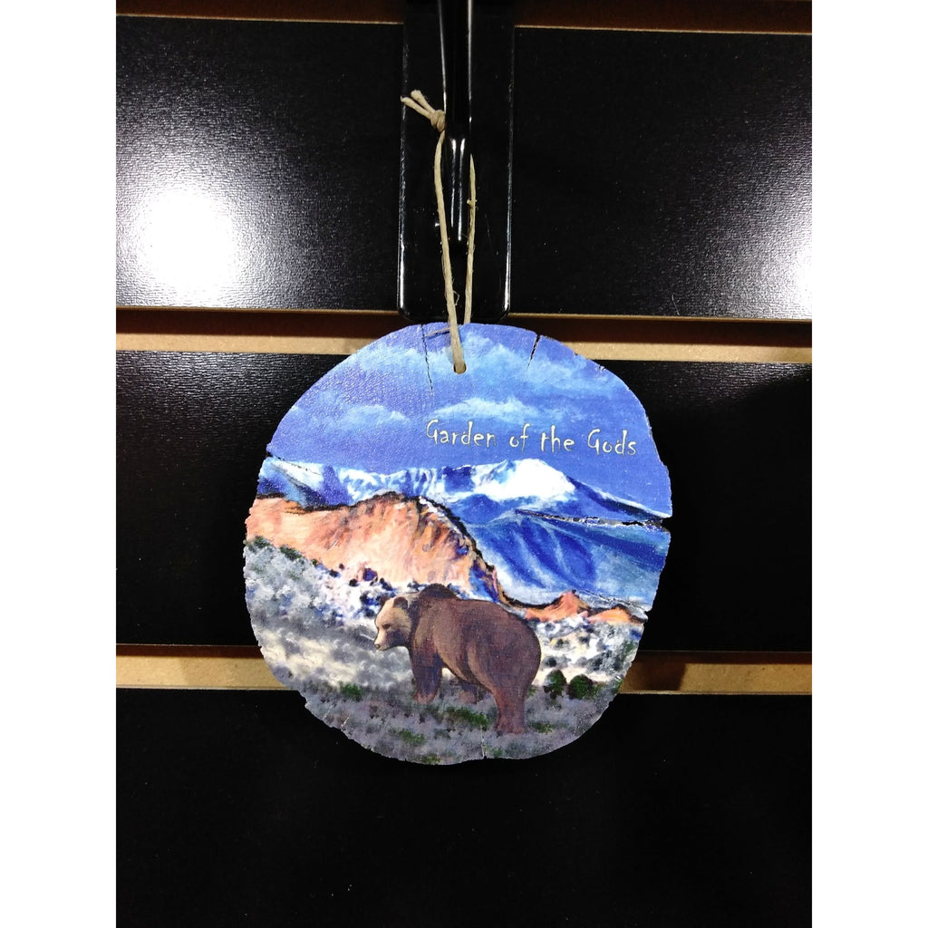 Garden of the Gods Wildlife Wood Ornament