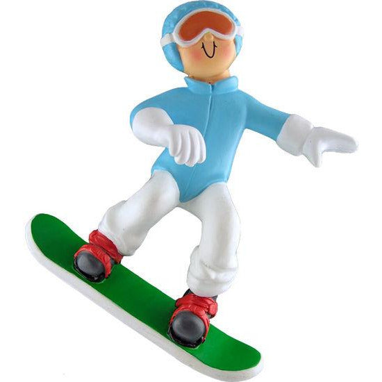 Snowboarder Ornaments