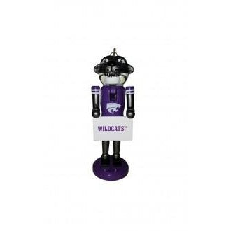 Kansas State Nutcracker Ornament
