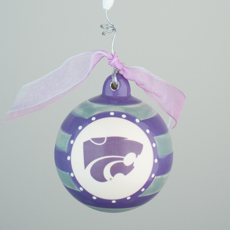 Kansas State Porcelain Ball
