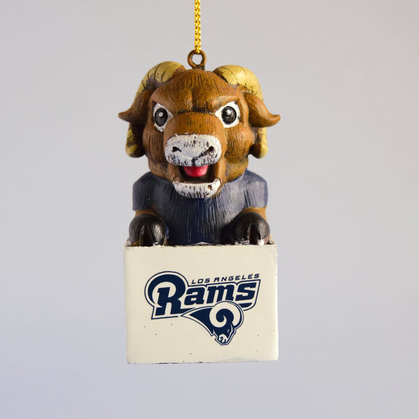 Los Angeles Rams Mascot Ornament