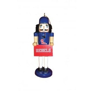 Ole Miss Nutcracker Ornament