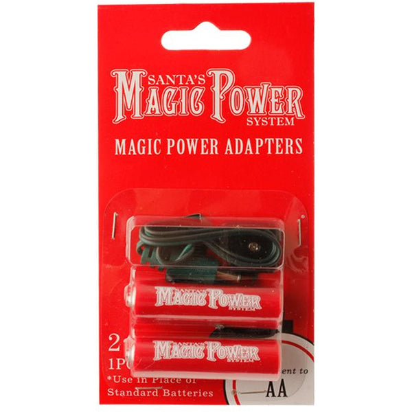 MAGIC POWER 2-AA BATTERY ADAPTERS
