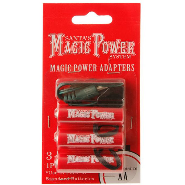 MAGIC POWER 3-AA ADAPTERS