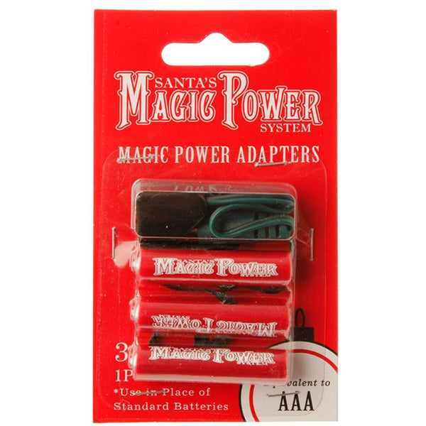 MAGIC POWER 3-AAA BATTERY ADAPTERS