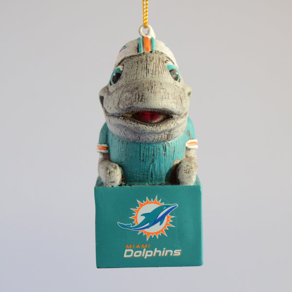 Miami Dolphins Mascot Ornament