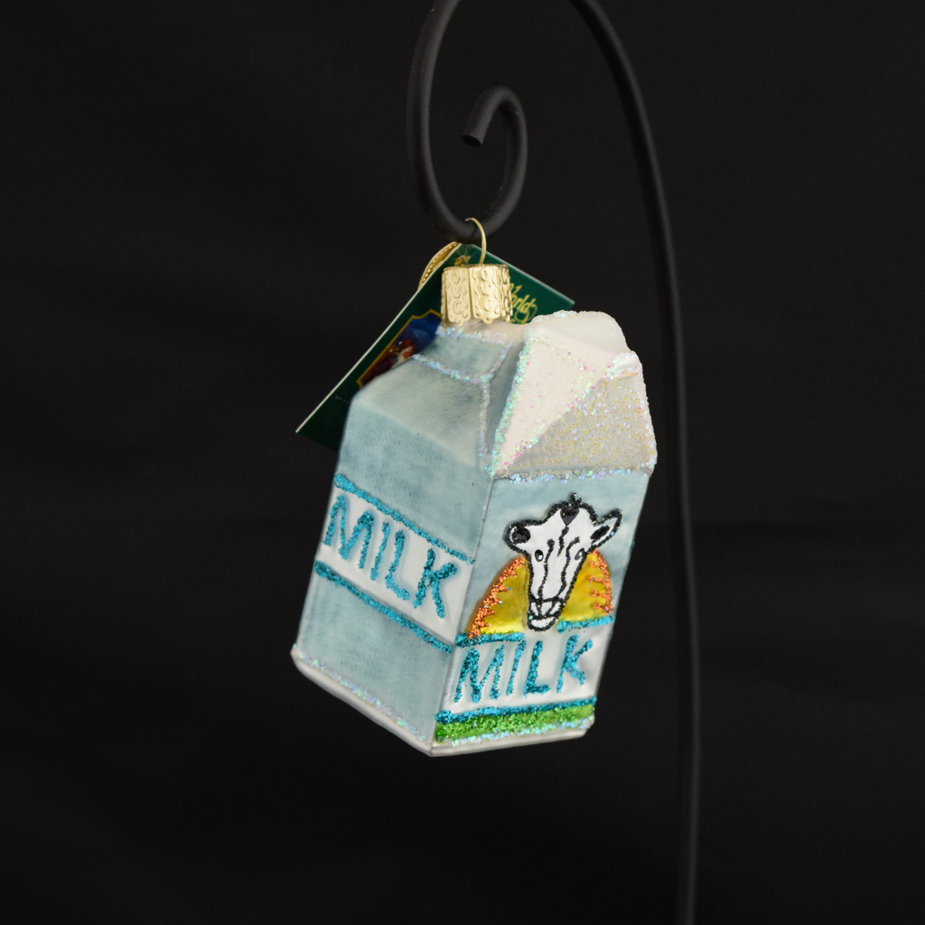 Old World Christmas Milk Carton Ornament