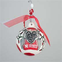 North Carolina State Porcelain Ball