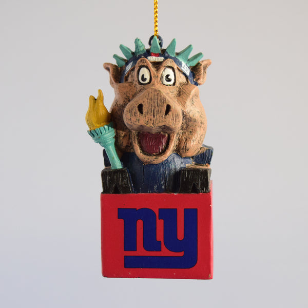 New York Giants Mascot Ornament