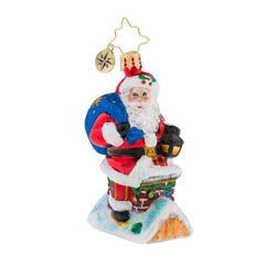 Chimney Climber Santa Little Gem