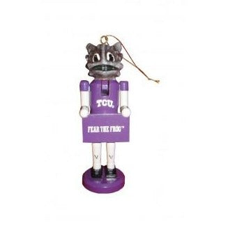 Texas Christian University Nutcracker Ornament