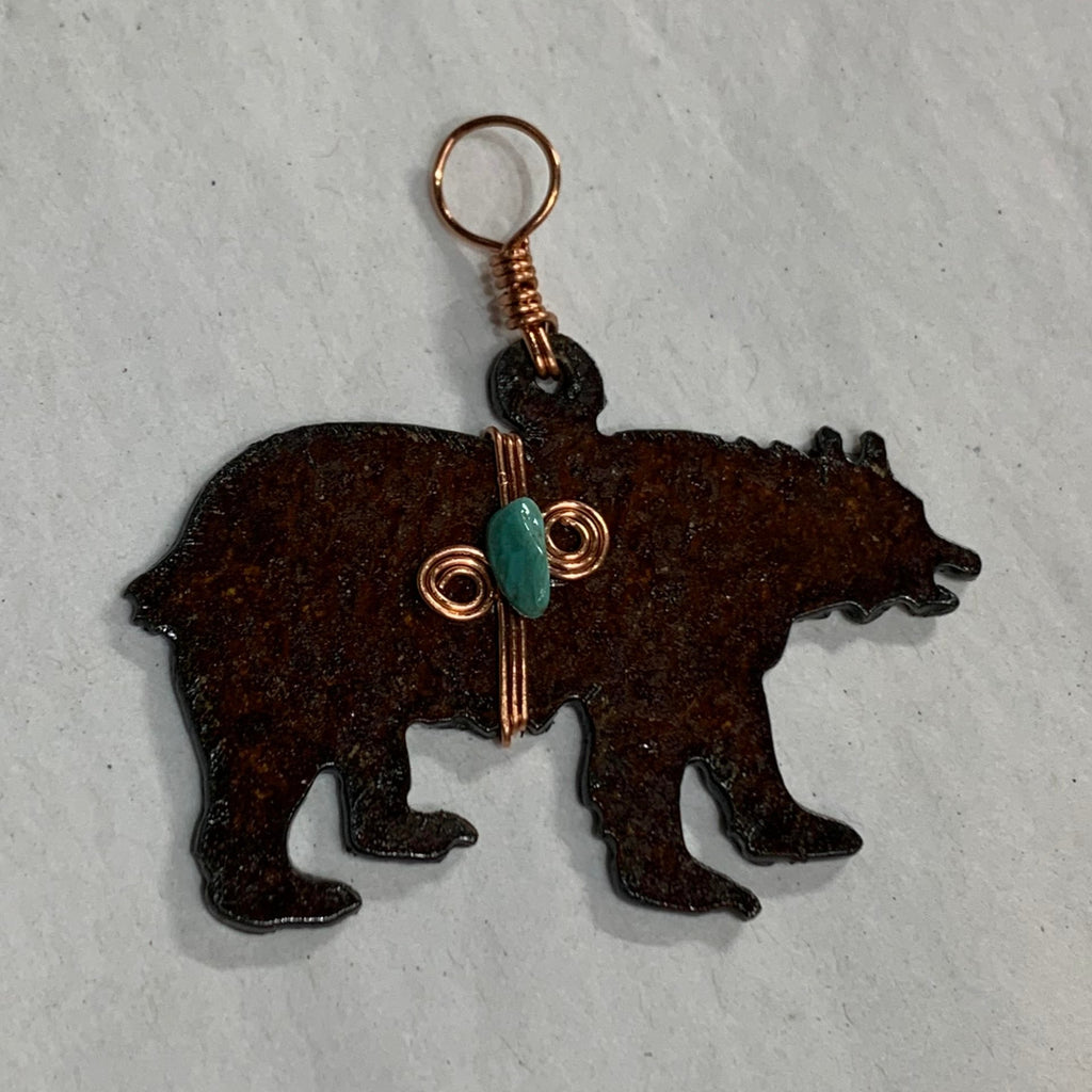 Metal Bear Ornaments
