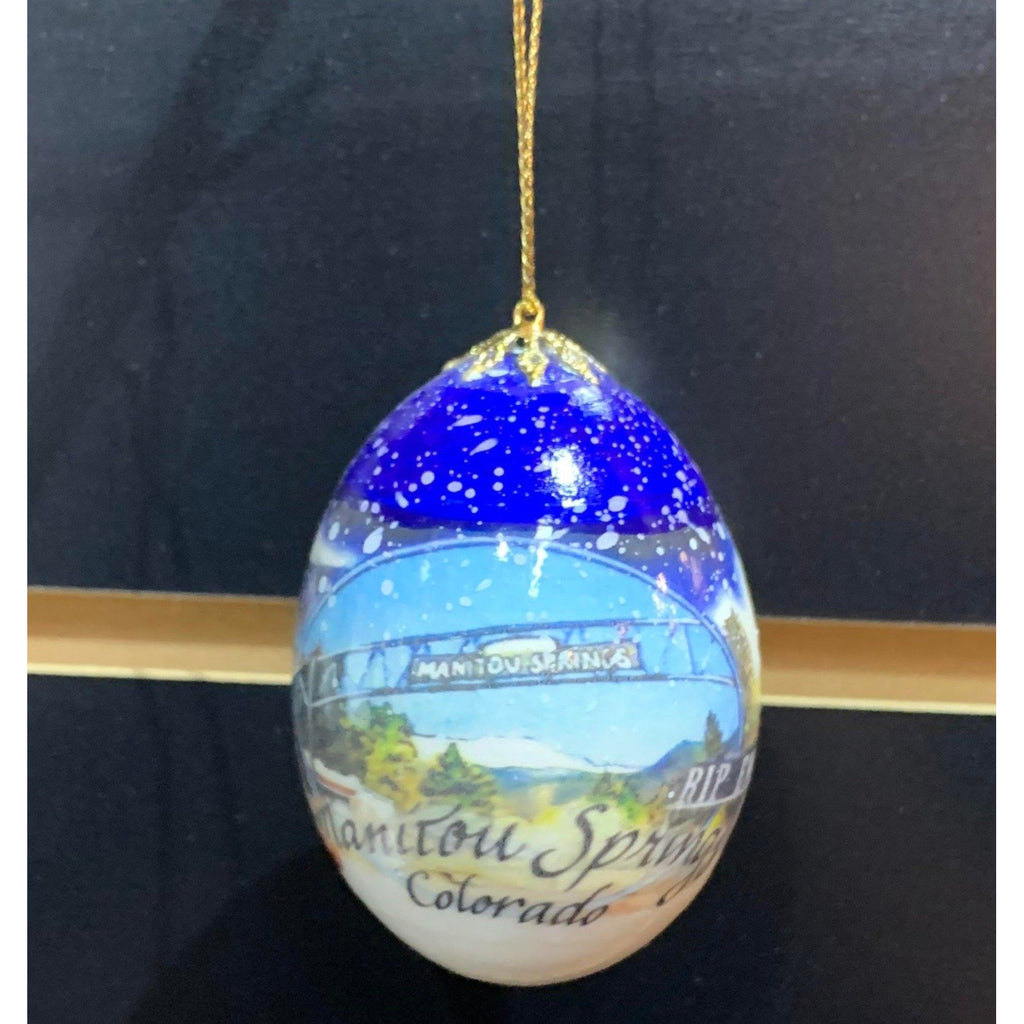 Emma Crawford Egg Ornament