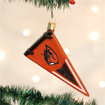 Oregon State Glass Pennant