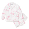 English Rose Floral Pajama Set