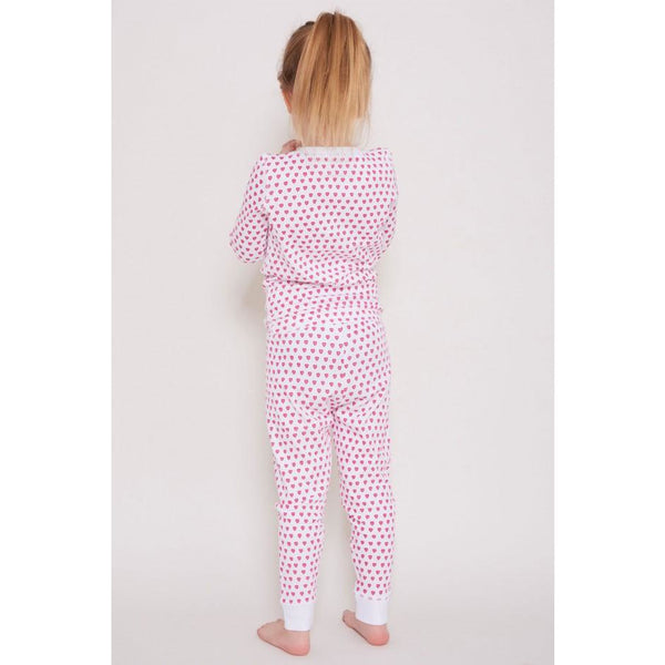 kids heart pajamas + roller rabbit