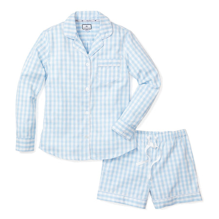 button down sleepshirt + blue