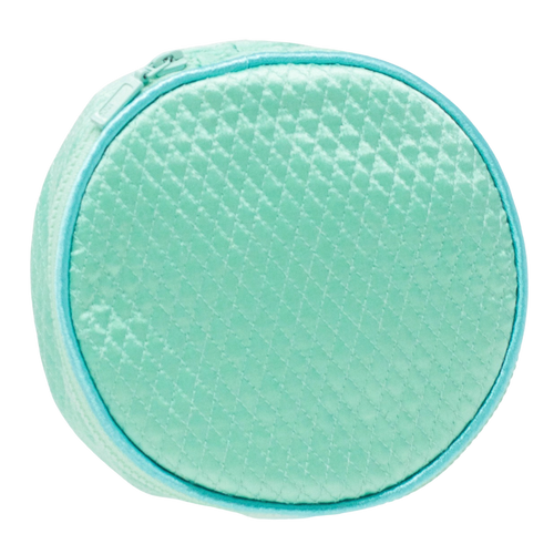 Lenora Large Jewelry Round - Green + Blue