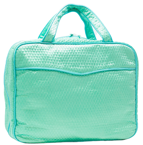 Lenora The Weekender - Green + Blue