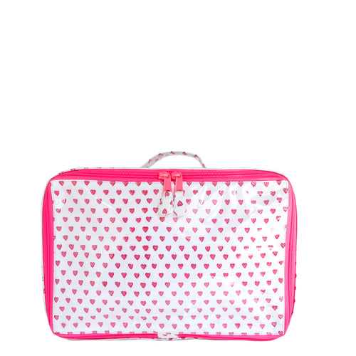Roller Rabbit Hearts Makeup Case