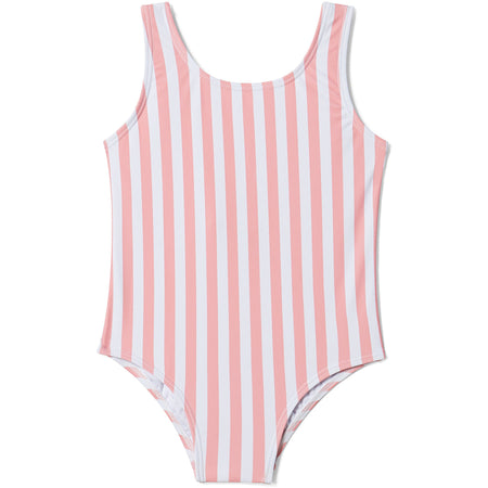 besties swimsuit + light pink