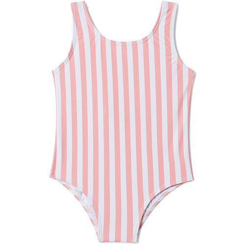 cabana stripe swimsuit