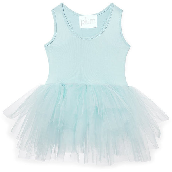 tutu dress + light blue