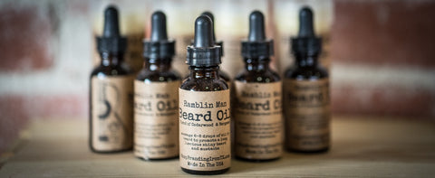 Manly Beard Oil [5 Scents]