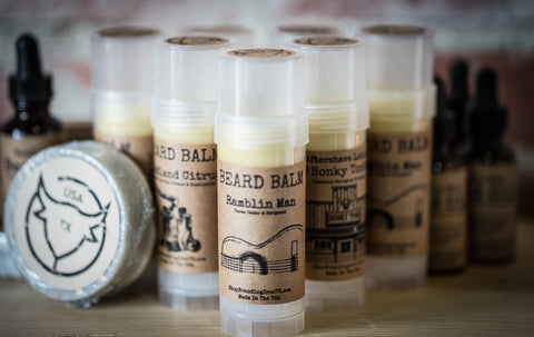 Manly Beard Balm [5 Scents]