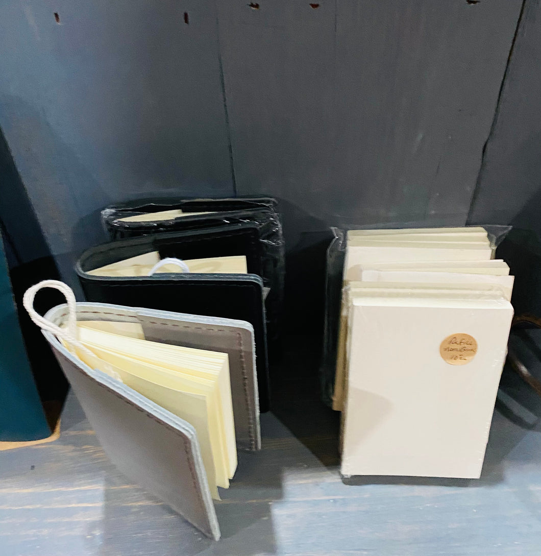 Leather Pocket Notebook Refills