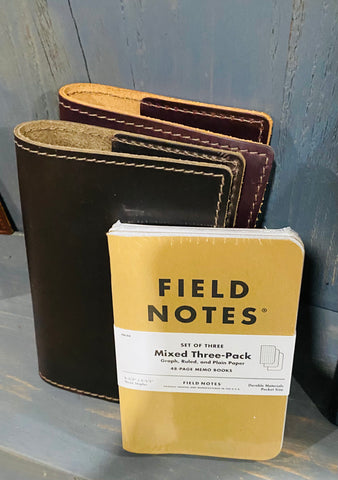 Leather Field Notebook Refills